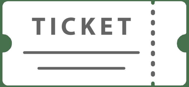 Icon Eintritt Ticket weiß