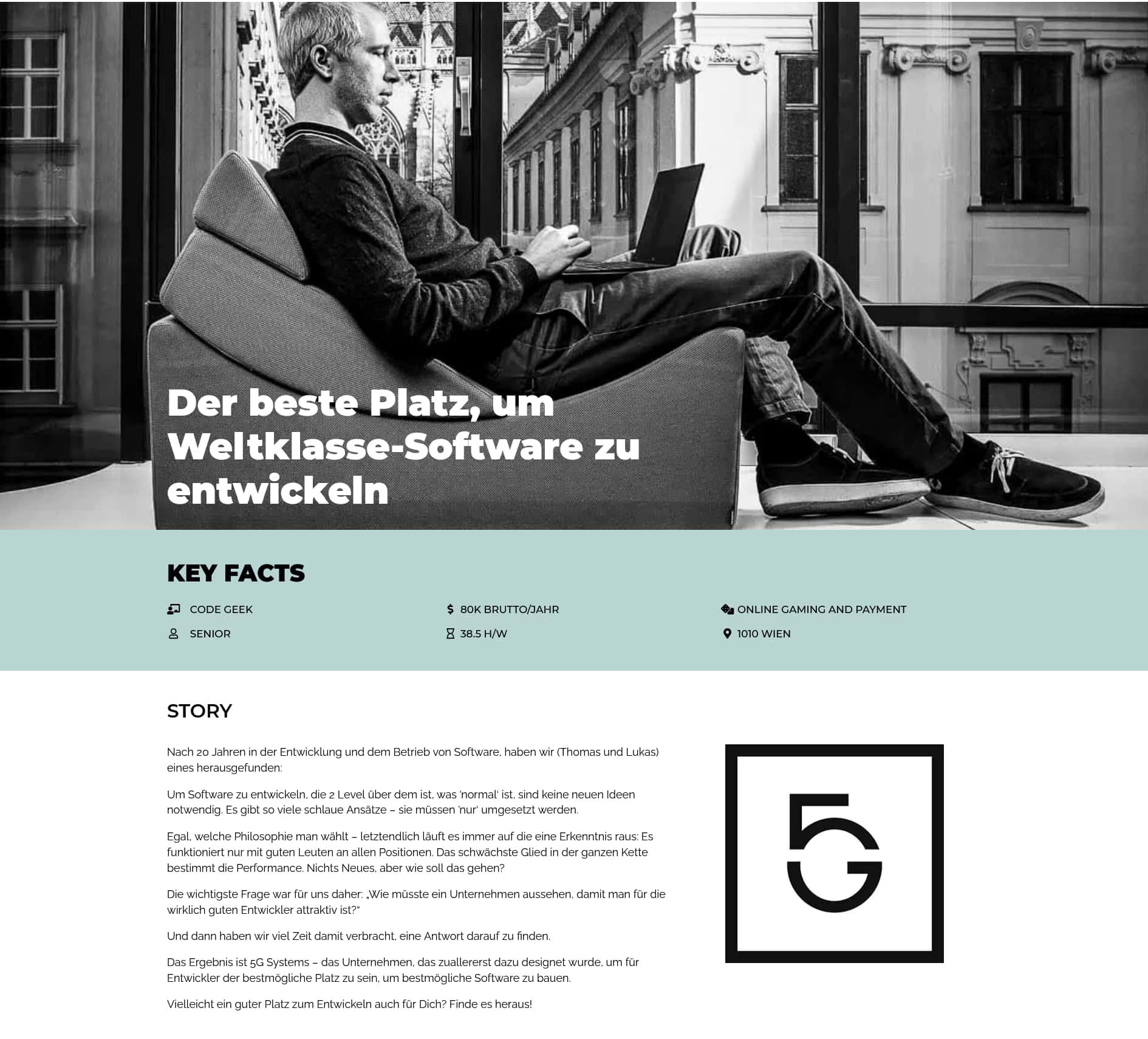 5G Job-Story