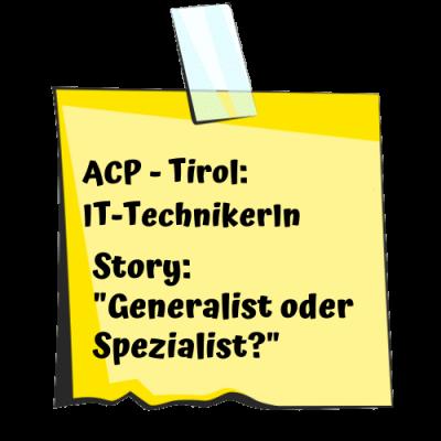 ACP IT-Techniker Post-it neu