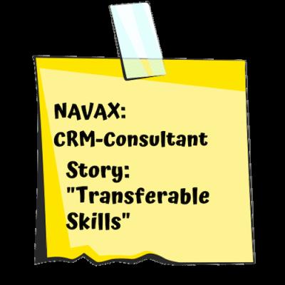 Navax Post-it für CRM-Consultant